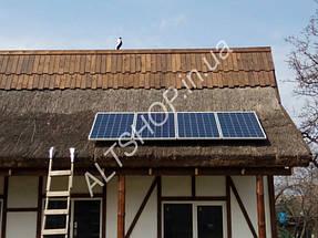 Автономный дом (Солнечная электростанция + коллектора) пос. Игрень г. Днепропетровск 2