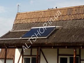 Автономный дом (Солнечная электростанция + коллектора) пос. Игрень г. Днепропетровск 3