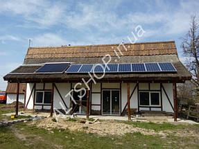 Автономный дом (Солнечная электростанция + коллектора) пос. Игрень г. Днепропетровск 4