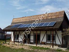 Автономный дом (Солнечная электростанция + коллектора) пос. Игрень г. Днепропетровск 5