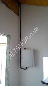Автономный дом (Солнечная электростанция + коллектора) пос. Игрень г. Днепропетровск 8