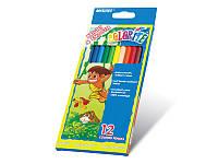 Цветные карандаши Marco 12 цветов Colorite NEW