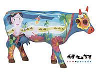 Коллекционная статуэтка корова Frida vai a Cancun, Size L