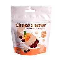 Конфеты из сухофруктов в шоколаде Choco Secret. Черешня во фруктовой оболочке, 50 г