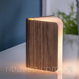 "Светильник-книга ""Smart Book"" мини, дерево орех Gingko GK12W8"