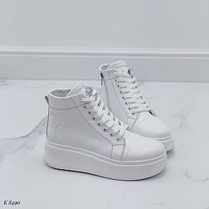 Женские ботинки на шнурках 8490 (ДБ)