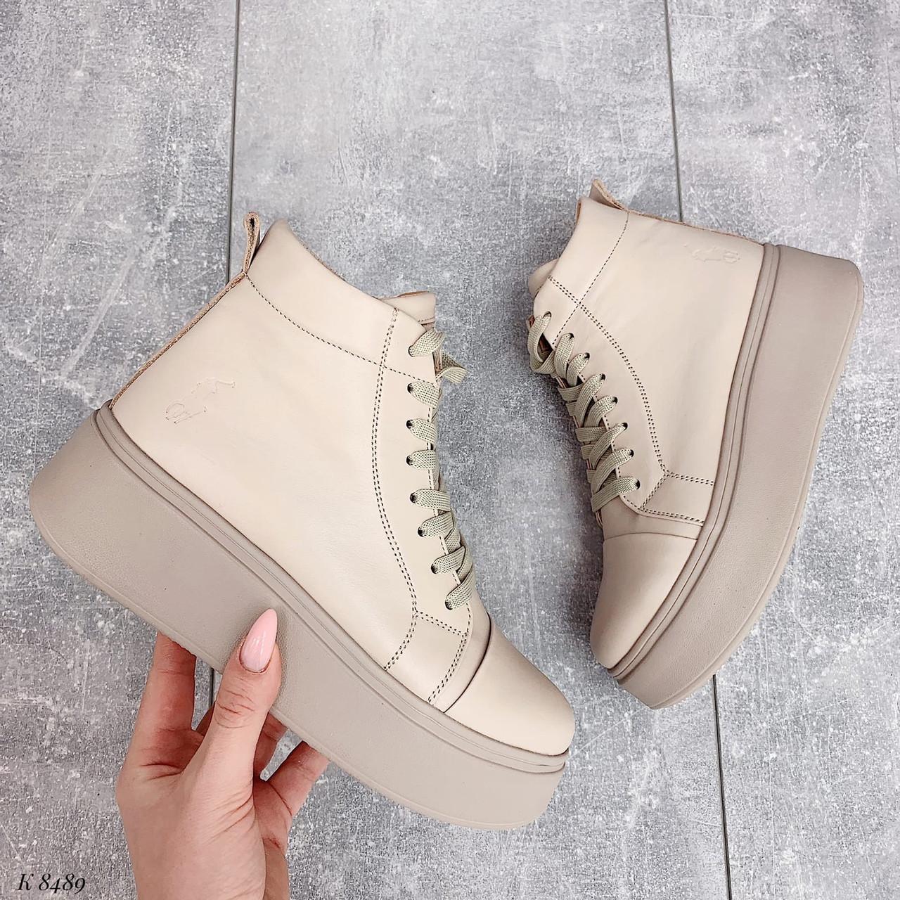 Жіночі спортивні черевики на платформі