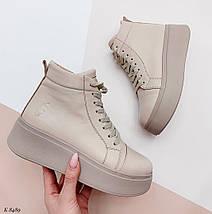 Жіночі спортивні черевики на платформі, фото 3