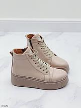 Жіночі спортивні черевики на платформі, фото 2