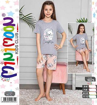 Пижама для девочки Р.р 6-11