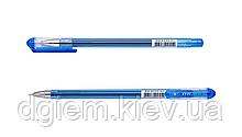 Ручка гелевая GOAL 0,5мм трехграный корпус синяя