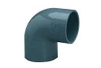 Колено ПВХ 90 градусов, диаметр 50 мм