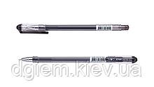 Ручка гелевая GOAL 0,5мм трехграный корпус, черная