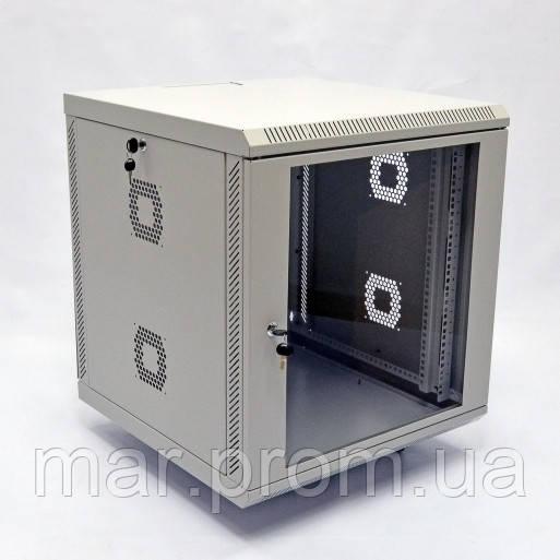 Шкаф 18U, 600х600х907 мм (Ш * Г * В), акриловое стекло, серый
