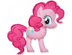Фольгированная фигура  My Little Pony Пинки Пай розовый
