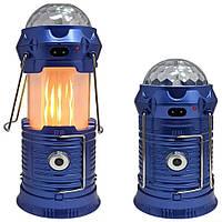 Ліхтар кемпінговий Stage Lamp 6899 функція Power bank + сонячна батарея ліхтарик кемпінг