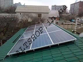 Автономная солнечная электростанция 4 кВт г. Днепр, Днепропетровская обл. 6
