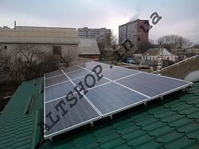 Автономная солнечная электростанция 4 кВт г. Днепр, Днепропетровская обл. 7