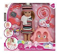 Кукла с Сумкой и Аксессуарами (36 см) Поет Говорит на Английском языке 8391