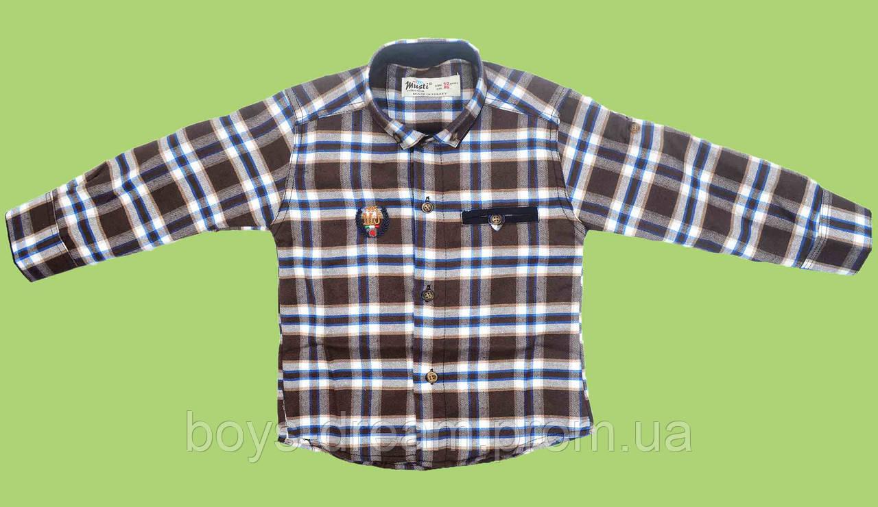 Рубашка для мальчика 116 - 140 Турция