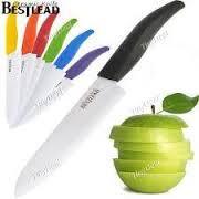 """Нож керамический FRICO FRU-463, 5"""", разные цвета"""