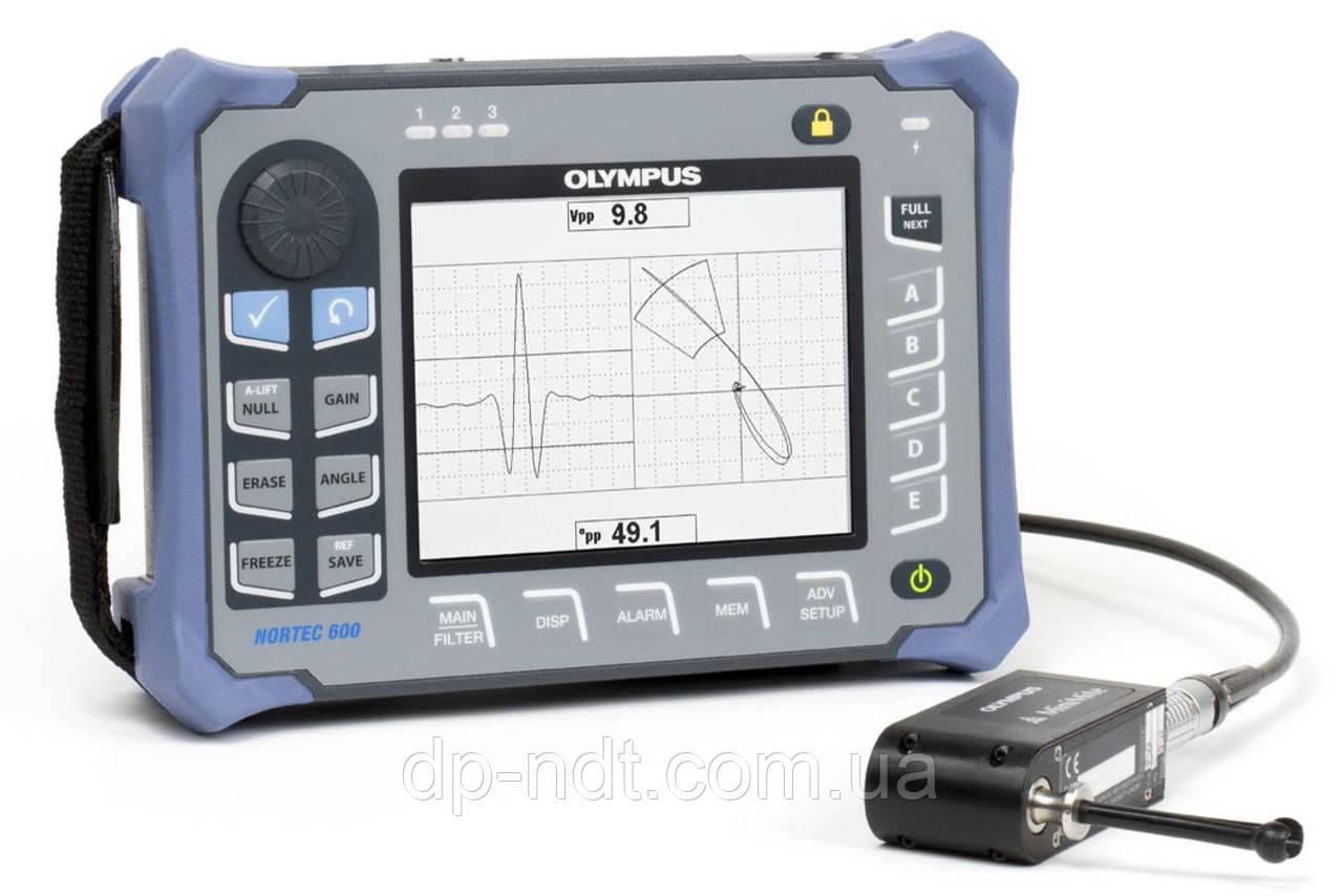 Вихретоковый дефектоскоп Olympus Nortec 600 D (Двухчастотный режим)