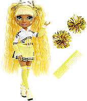Игровой набор с желтой куклой Рейнбоу Хай Санни Черлидер Rainbow High Cheer Sunny Madison