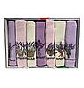 Набір вафельних рушників Nilteks бавовна 40-60 см 7 шт. бузкові