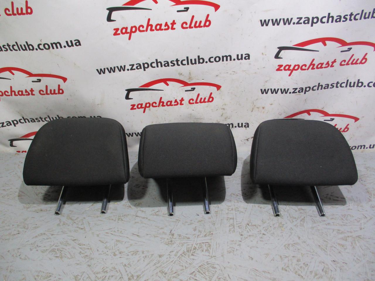 Подголовники 2го ряда, комплект 3шт MN166663XA, 6971A013XA 995098 Grandis Mitsubishi