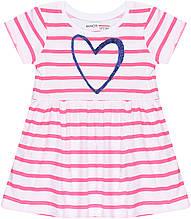 Детское летнее коттоновое платье для девочки 12-18 мес, 80-86 см