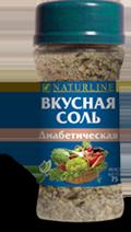Вкусная соль - Диабетическая - 75 г - Даника, Украина