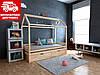 Детская кровать-домик Китти 70*140 с ящиками Щит БУКа
