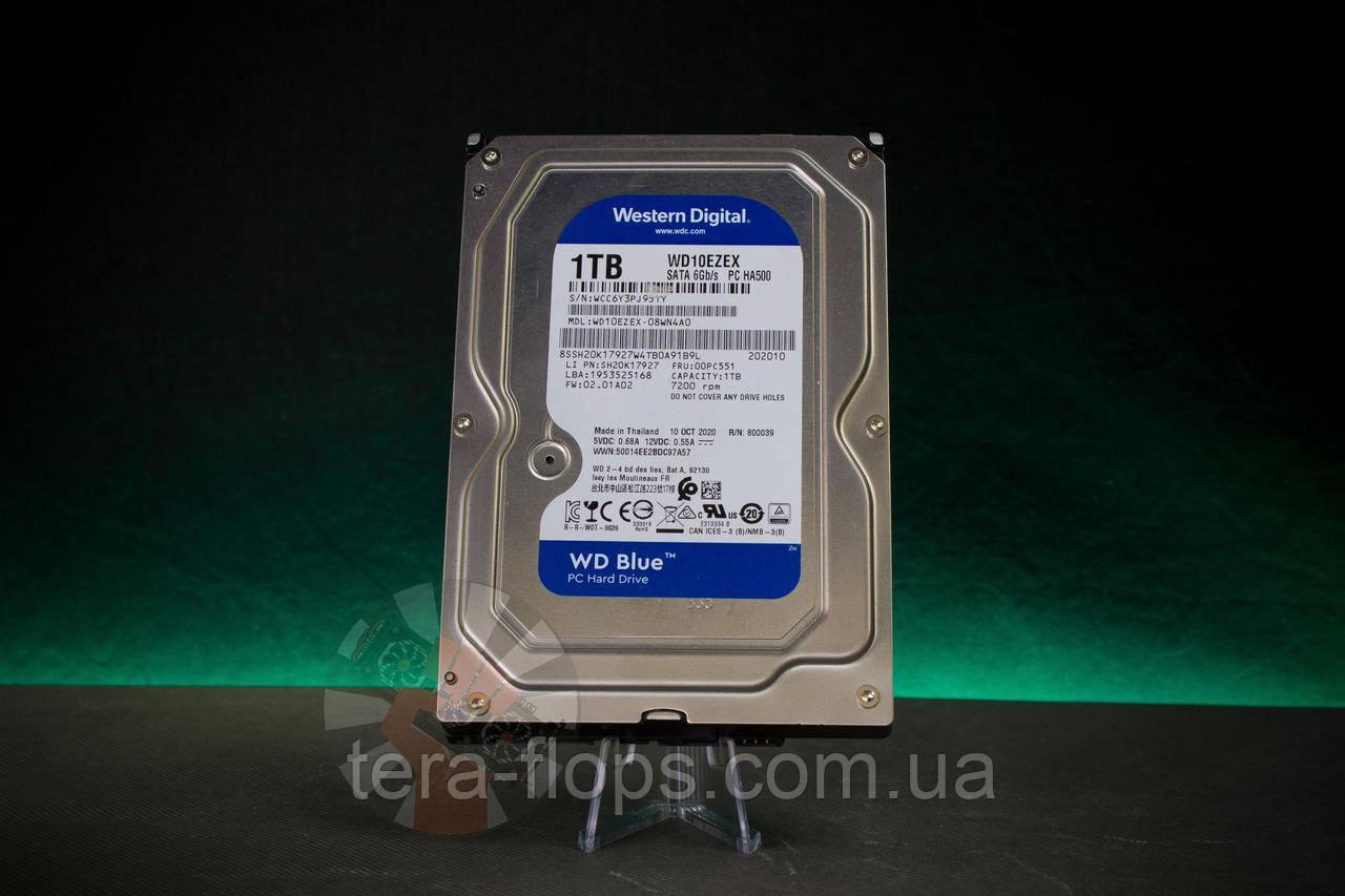 Жесткий диск HDD Western Digital Blue 1TB (WD10EZEX) Б/У