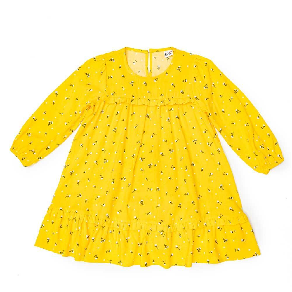 Сукня для дівчаток Kidsmod 104 жовте 981384