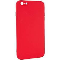 "Чехол TPU Square Full Camera для Apple iPhone 6/6s plus (5.5"") Красный"