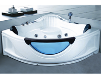 Гидромассажная угловая ванна Golston G-1515, 1500х1500х700 мм