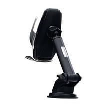 Автомобильный держатель телефона с беспроводной зарядкой, Автодержатель с раздвижным механизмом Hoco S14, фото 3
