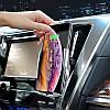 Автомобильный держатель телефона с беспроводной зарядкой, Автодержатель с раздвижным механизмом Hoco S14, фото 5