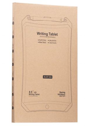 """Графический планшет монитор Lcd Writing Tablet 8.5"""" (Детский художественный планшет для рисования) Дигитайзер, фото 2"""