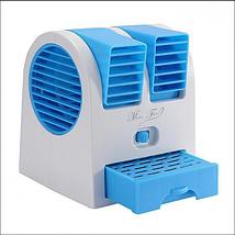 Мобільний кондиціонер Air Cooler, Портативний міні кондиціонер для дому, Переносний охолоджувач повітря USB, фото 3