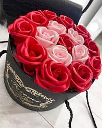 Подарочный набор Розы из мыла