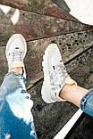 Женские кроссовки Adidas Nite Jogger (white/beige) Реплика ААА, фото 5