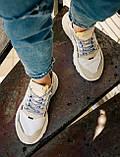 Женские кроссовки Adidas Nite Jogger (white/beige) Реплика ААА, фото 4
