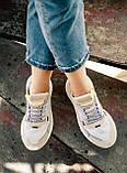 Женские кроссовки Adidas Nite Jogger (white/beige) Реплика ААА, фото 7
