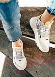 Женские кроссовки Adidas Nite Jogger (white/beige) Реплика ААА, фото 6