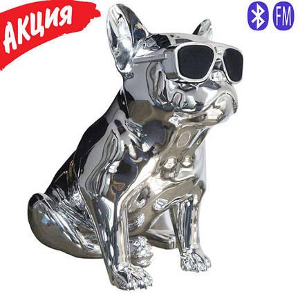 Портативная беспроводная Bluetooth Speaker колонка Aerobull BIG DOG S4, Переносная Usb-колонка собака FM радио, фото 2