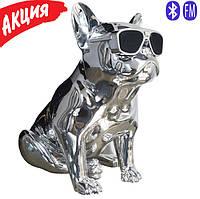 Портативная беспроводная Bluetooth Speaker колонка Aerobull BIG DOG S4, Переносная Usb-колонка собака FM радио