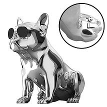 Портативная беспроводная Bluetooth Speaker колонка Aerobull BIG DOG S4, Переносная Usb-колонка собака FM радио, фото 3