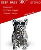 Портативная беспроводная Bluetooth Speaker колонка Aerobull BIG DOG S4, Переносная Usb-колонка собака FM радио, фото 4