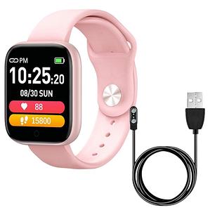 Фитнес-браслет Smart Band T85 с шагомером, пульсометром, танометром, Спортивные наручные умные смарт-часы